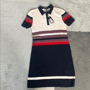 rag & bone Dresses - RAG & BONE Krista Stripe Polo Dress